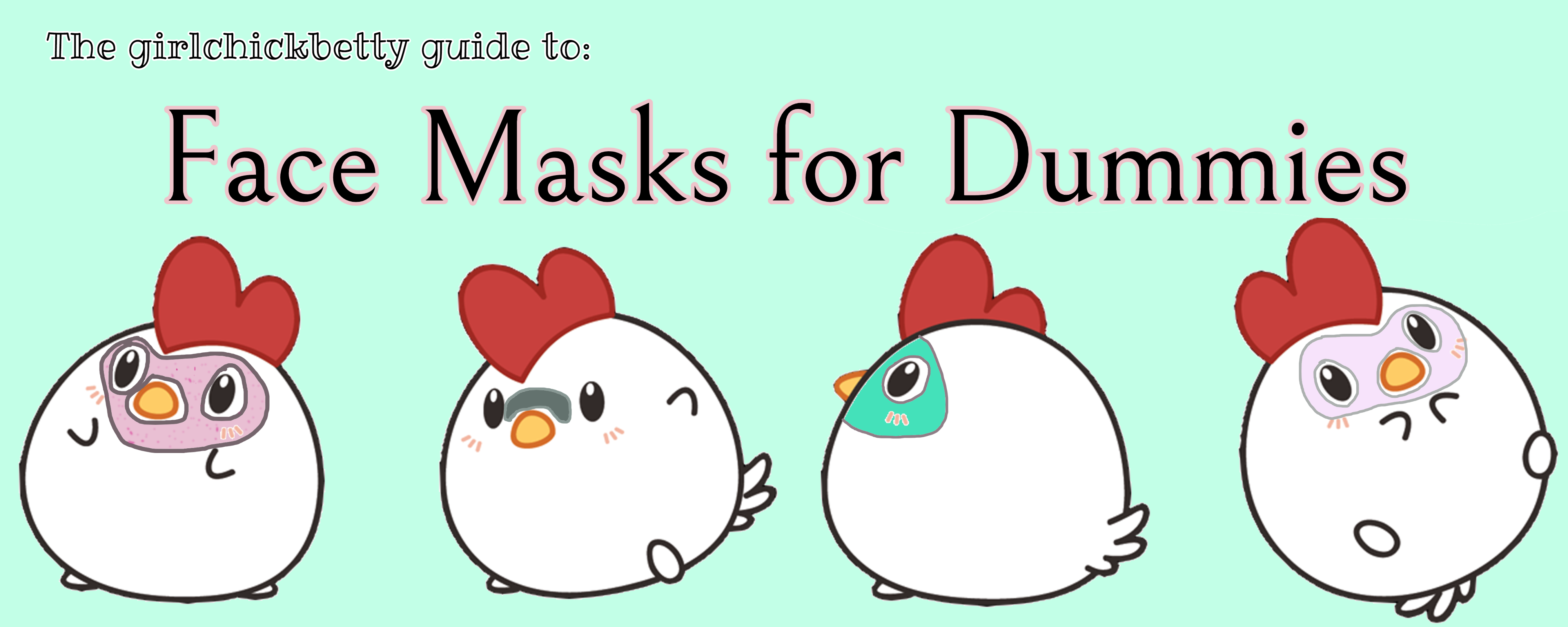 Face masks for dummies