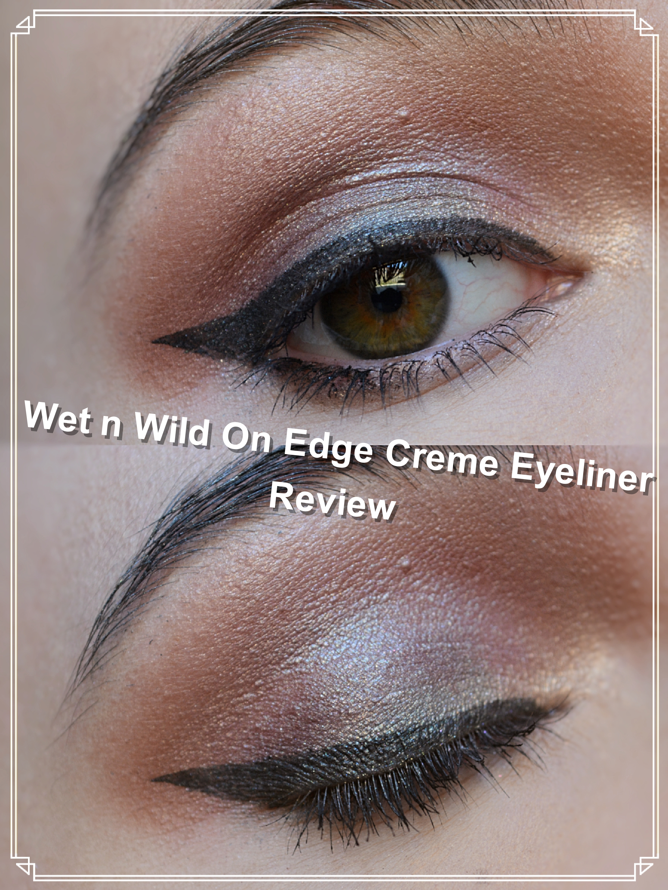 Wet and Wild On Edge Creme Eyeliner Review