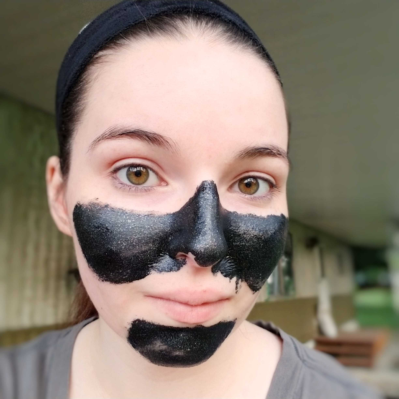 e.l.f. Cosmetics Pore Clearing Glitter Peel Off Mask Review +GirlChickBetty