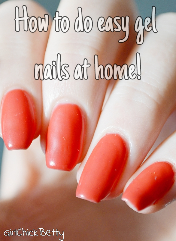How to do easy gel nails at home!