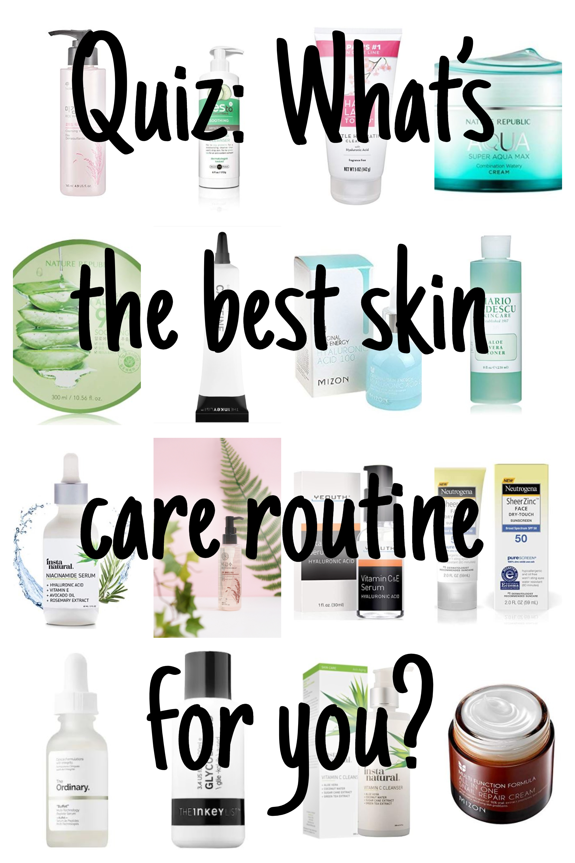 Best Skincare Routine Quiz