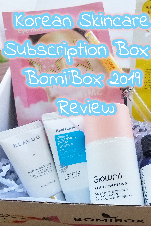 Korean Skincare Subscription Box - BomiBox Review
