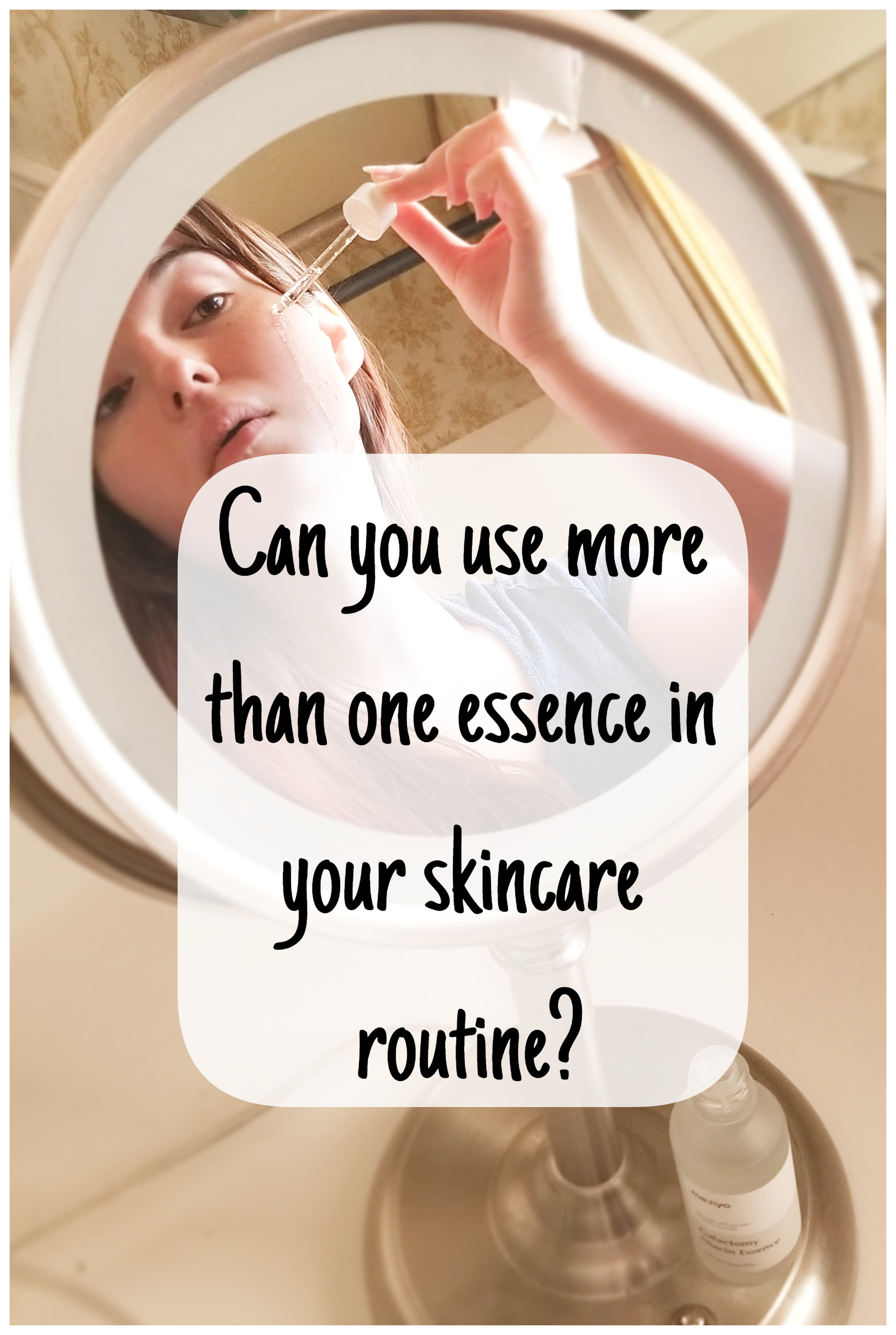 Here's how to use more than one essence at a time in your skincare routine!