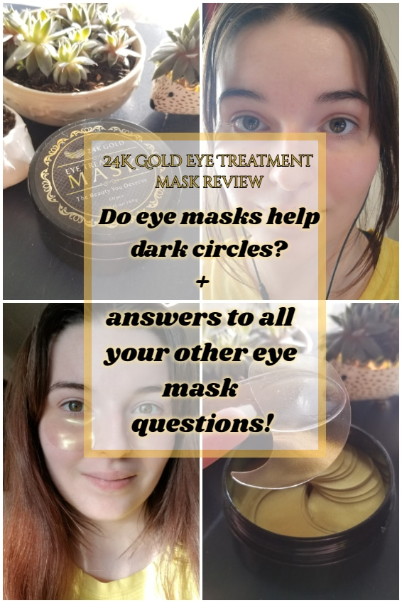 Do under eye masks help dark circles? + answers to all your other eye mask questions!