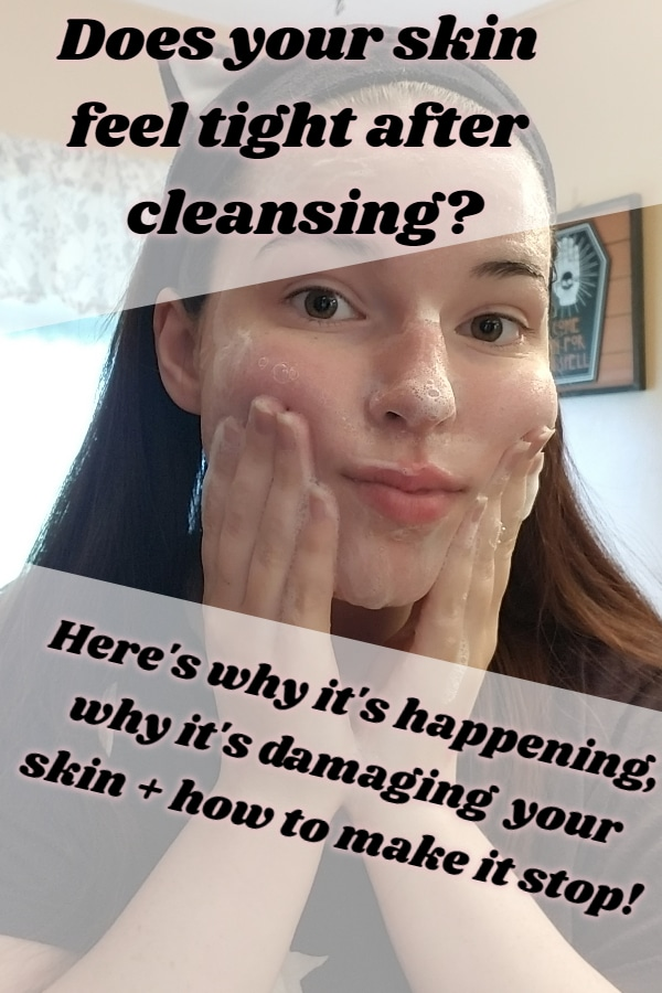 Here's why your skin feels tight after cleansing! + why your toner sometimes burns and how to stop it!