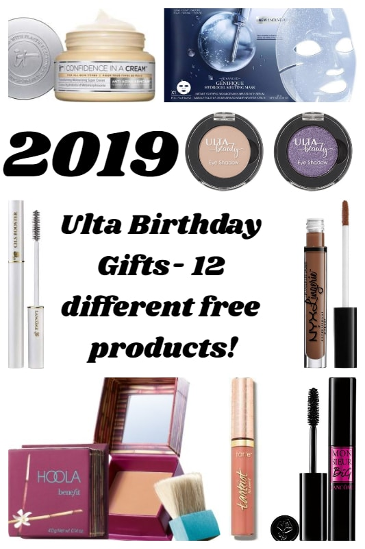 Ulta 2019 Birthday Gifts