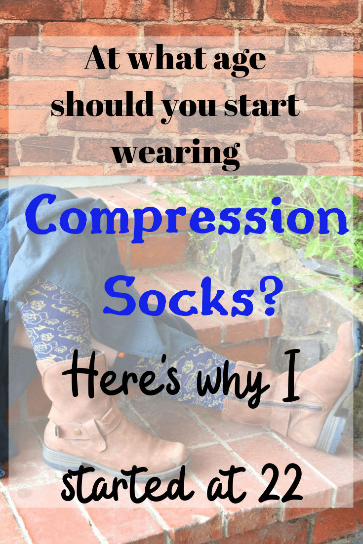 At what age can you start wearing compression socks?