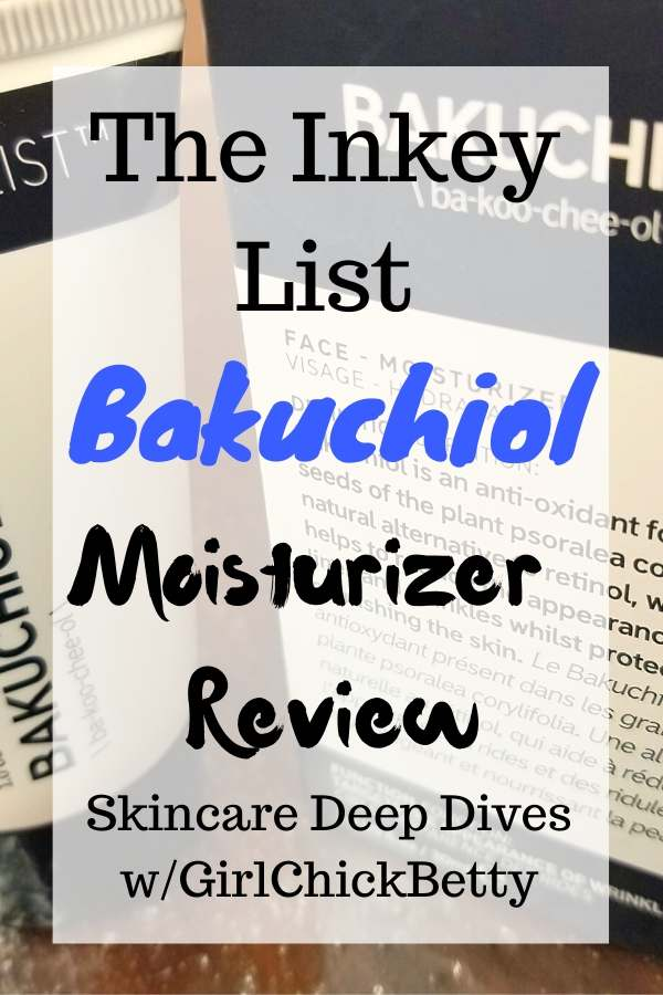 The Inkey List Bakuchiol Moisturizer Review: Skincare Deep Dive