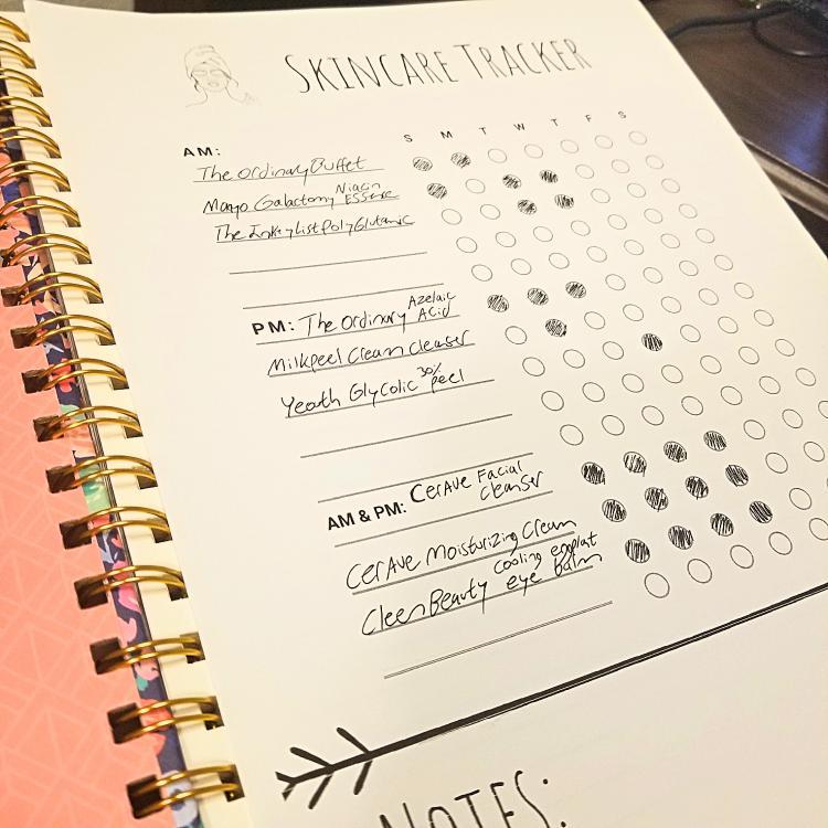 Free Skincare Planner Printable Template