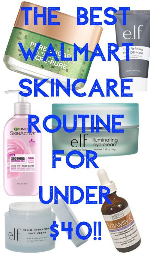 Walmart Skincare Routine for Less Than $40